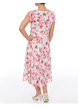Anna Rose Bias Cut Floral Dress