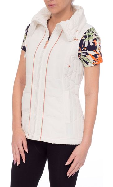 Anna Rose Ruched Collar Gilet