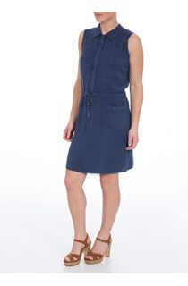 Sleeveless Washed Midi Dress