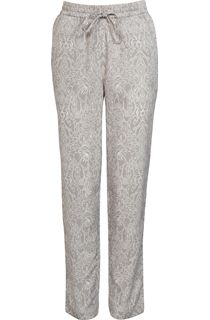 Anna Rose Tapered Elasticated Waist Printed Trousers