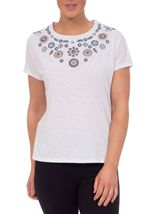 Anna Rose Embroidered Top