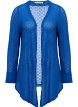 Anna Rose Long Sleeve Open Cover Up