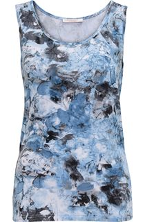 Anna Rose Printed Vest Top