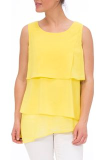 Layered Sleeveless Georgette Top