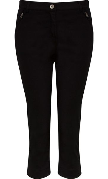 Cropped Stretch Jeans