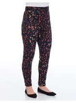 Printed Scuba Trousers