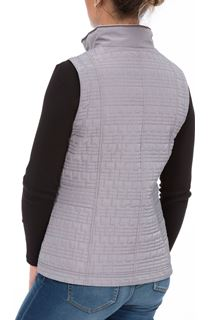 Anna Rose Zip Gilet - Grey