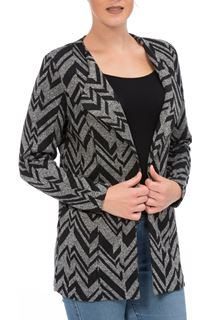 Long Sleeve Unlined Open Jacket
