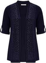 Anna Rose Embellished Open Cover Up