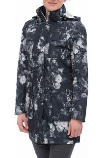 Floral Printed Lightweight Coat
