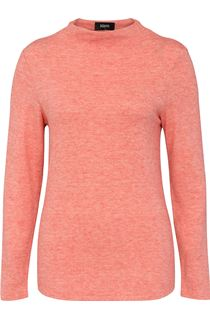 Lightweight Knitted Turtle Neck Top - Red