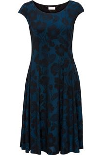 Anna Rose Glittering Floral Fully Lined Dress