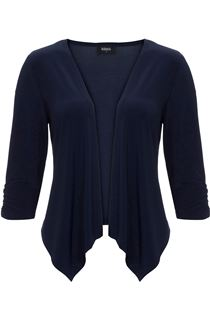 Waterfall Jersey Cover Up - Navy