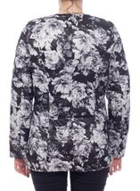 Monochrome Floral Jacket