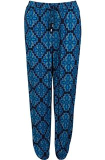 Printed Elasticated Waist Trousers