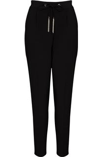 Tapered Leg Self Tie Trousers