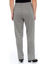Anna Rose Pull On Tapered Check Trousers