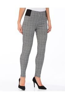 Dogtooth Skinny Trousers