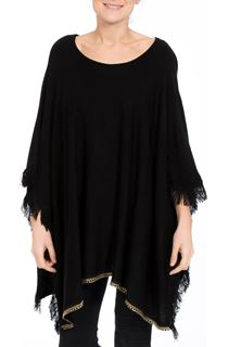 Lightweight Knitted Poncho