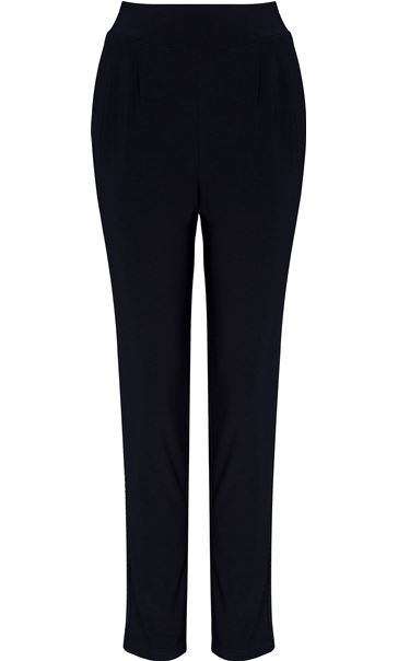 Tapered Pull On Stretch Embellished trousers
