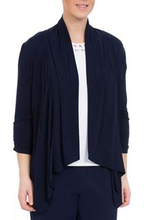 Anna Rose Unlined Open Jersey Jacket