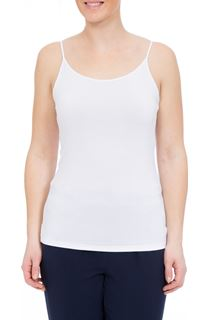 Adjustable Cami Top - White