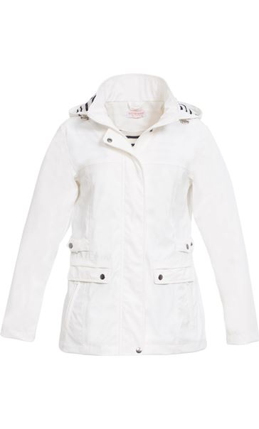 Anna Rose Waterproof Hooded Coat