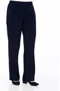 Anna Rose 29 Inch Straight Leg Trousers - Navy