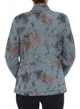 Anna Rose Floral Print Padded Coat
