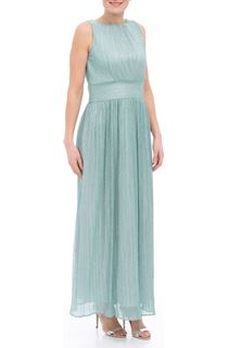 Sleeveless Shimmer Maxi Dress