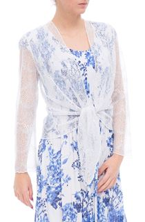 Anna Rose Long Sleeve Mesh Cover Up