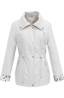 Anna Rose Lightweight Printed Cuff Coat