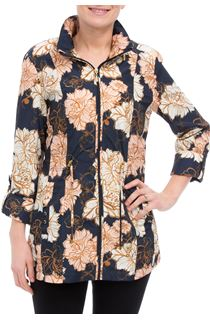 Anna Rose Lightweight Floral Coat