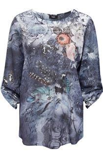 Embellished Floral Lightweight Tunic