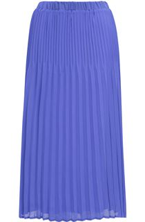 Anna Rose Pull On Chiffon Pleated Skirt