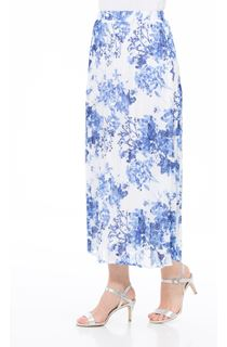 Anna Rose Pull On Pleated Midi Skirt