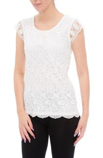 Anna Rose Crochet Lace Layer Top
