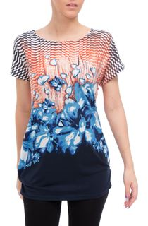 Printed Short Sleeve Tunic