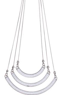 Triple Shimmer Swing Necklace