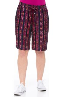 Printed Lightweight Elasticated Waist Shorts