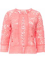 Anna Rose Lace Open Cover Up