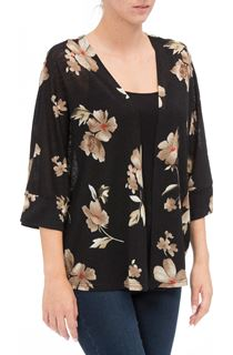 Floral Print Cover Up