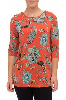 Printed Three Quarter Sleeve Tunic