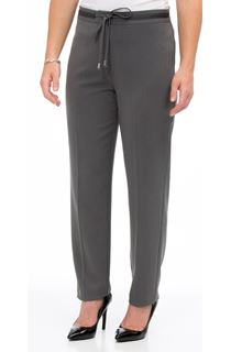 Tapered Tie Waist Trousers