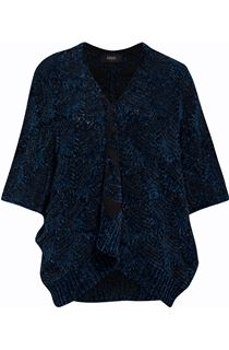 Chenille Loose Fitting Cardigan