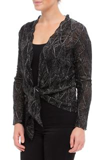 Anna Rose Long Sleeve Sparkle Cover Up