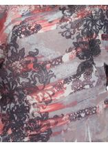 Sublimation Print Top Taupe/Coral - Gallery Image 3