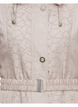 Stone Embroidered Panel Coat Stone - Gallery Image 3