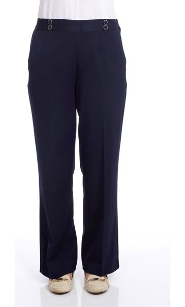 Anna Rose 27 Inch Trousers Black