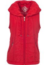 Anna Rose Gilet Red - Gallery Image 1